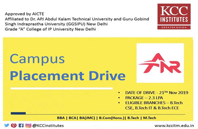 Campus Placement Drive of ANR