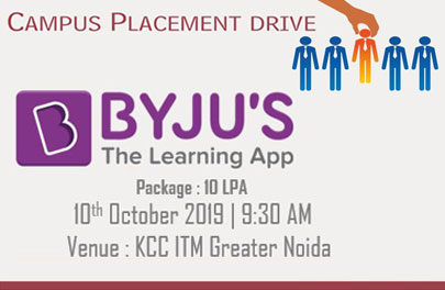 Campus Placement Drive of Byjus