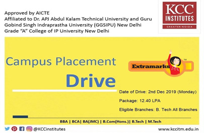 Campus Placement Drive of Extramarks