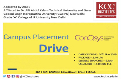 Campus Placement Drive of Sonqsys
