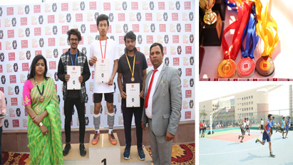 Some won, some lost but all had great fun. The year long wait for the sports enthusiasts came to an end with the Grand Inter College Sports Fest