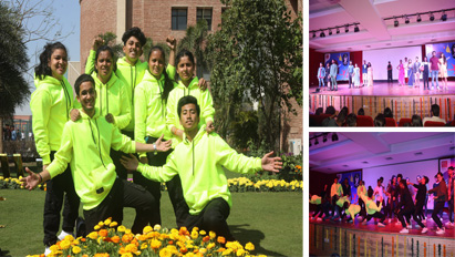 The Cultural Fest at KCC Institutes was a grand affair. The best of student's performances like band performance, Group dance