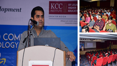 KCC Institutes organised a guest lecturer on 'Cloud Computing Technology: Amazon Web Services for the students of BBA, BCA, & B.COM(H)