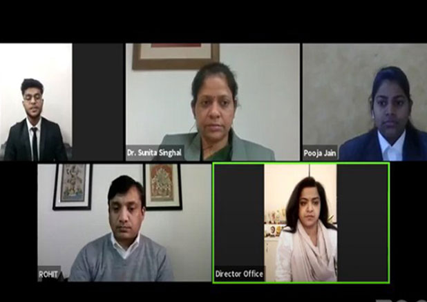 Mr. Rohit Patnaik live for the Webinar Organised by KCC Institutes, Delhi-NCR, Greater Noida.
