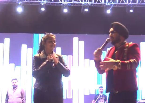 Dilbagh Singh and Stuti Tiwari at KCC