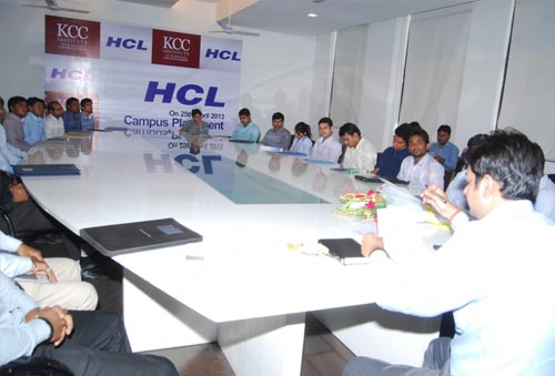 HCL MBA Campus Placement