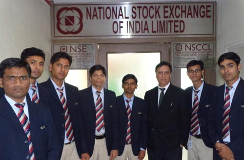 industrial visit National Stock Exchange of India