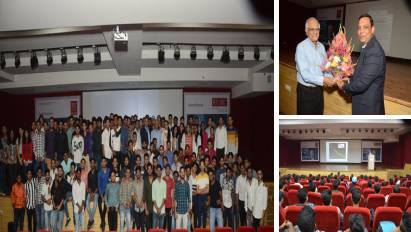 Guest Speaker Prof Ajoy Ghatak delivered a valuable talk on the topic on Einstein and his equation